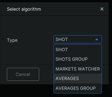 Averages Algorithm